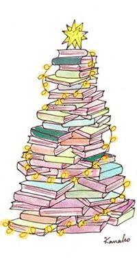 ¡¡¡¡¡Arbolillo de navidad hecho de libros!!!!