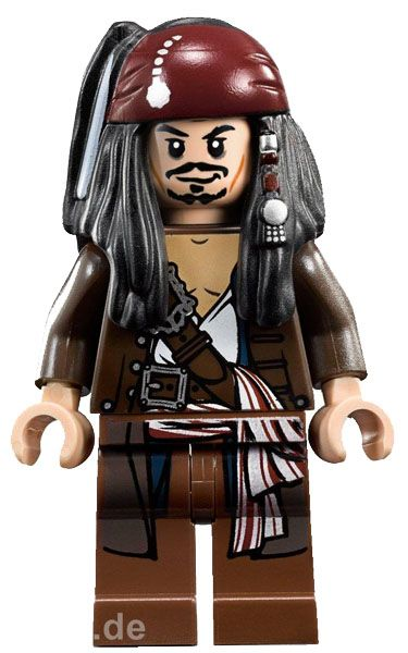 LEGO Pirates of the Caribbean Jack Sparrow