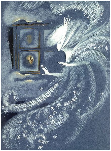 Illustration by Nika Goltz from The Snow Queen