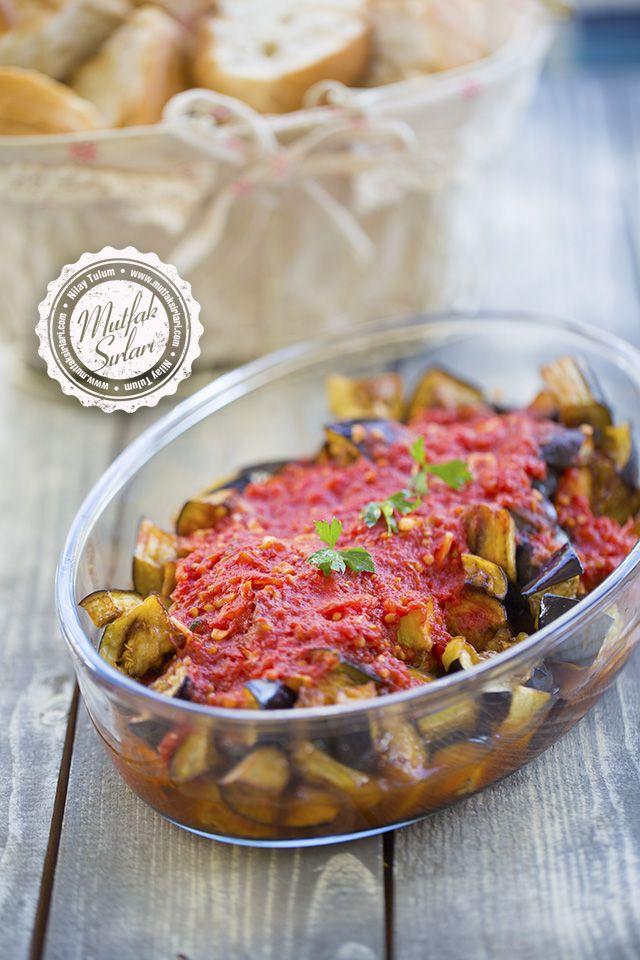 Domates Soslu Patlıcan Kızartma – Mutfak Sırları – Pratik Yemek Tarifleri