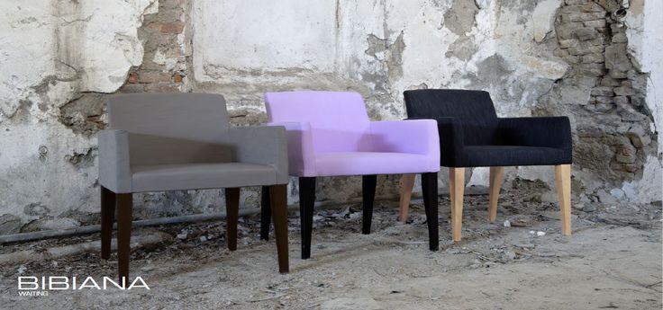 BIBIANA Waiting chairs by Domingo