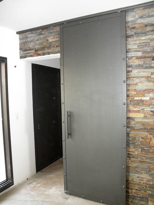 M s de 25 ideas incre bles sobre portones corredizos en for Puertas metalicas para interiores