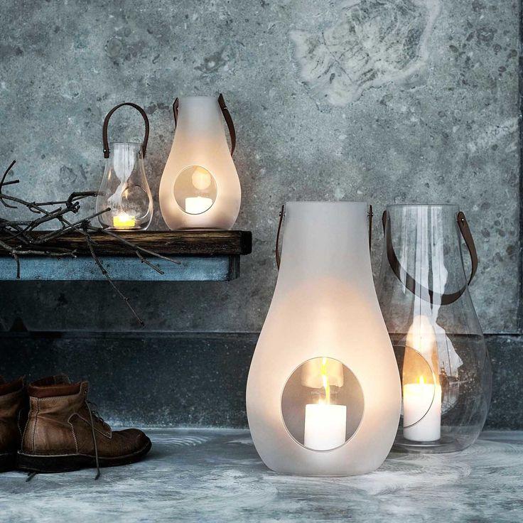 Holmegaard - Design with Light Laterne, 45cm, weiß