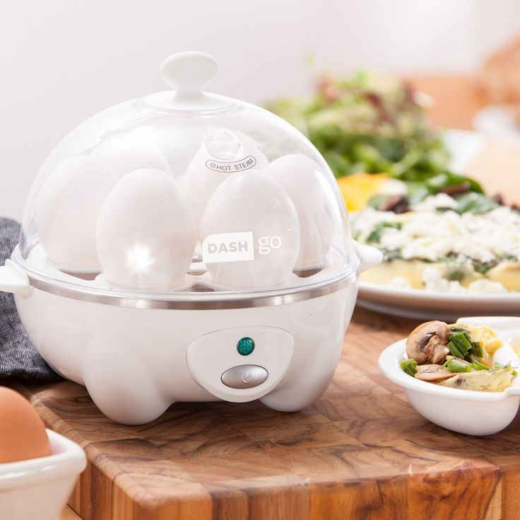 Automatic Electric Rapid Egg Cooker Only 2 In Stock Order Today! Product Description: Cooking eggs has never been so quick and simple with the Dash Go Rapid Egg Cooker. It boils up to six eggs at a ti
