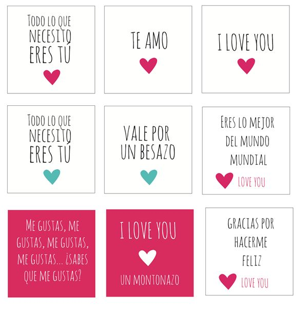 imprimible San Valentín