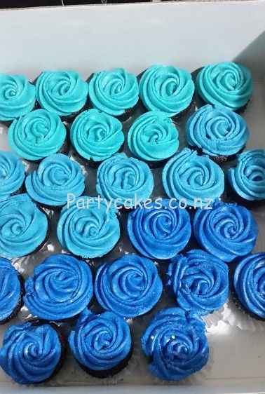 Best 25 Blue Cupcakes Ideas On Pinterest Cupcake