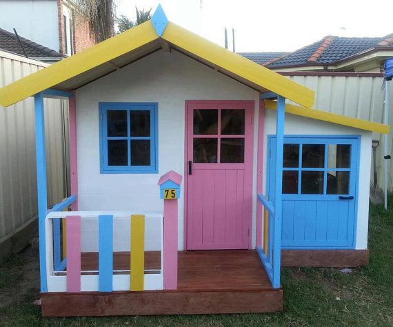 25 unique wooden playhouse kits ideas on pinterest for Cheap playhouse kits