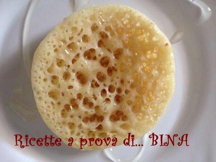 Baghrir - crepes marocchine, leggere e ottime sia con un condimento dolce, sia per accompagnare salumi e formaggi
