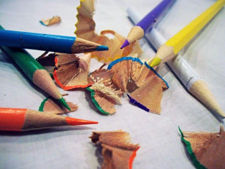 Colouring pencils. By Christy-Lynn Breetvelt