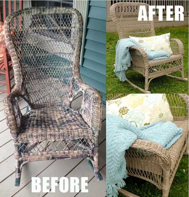 Top 100 Ideas About Diy Refurbished Wicker Furniture On