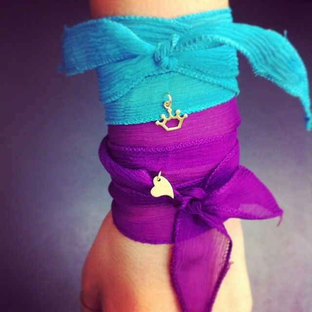 AVLAIA silk bracelets: the hottest summer trend!