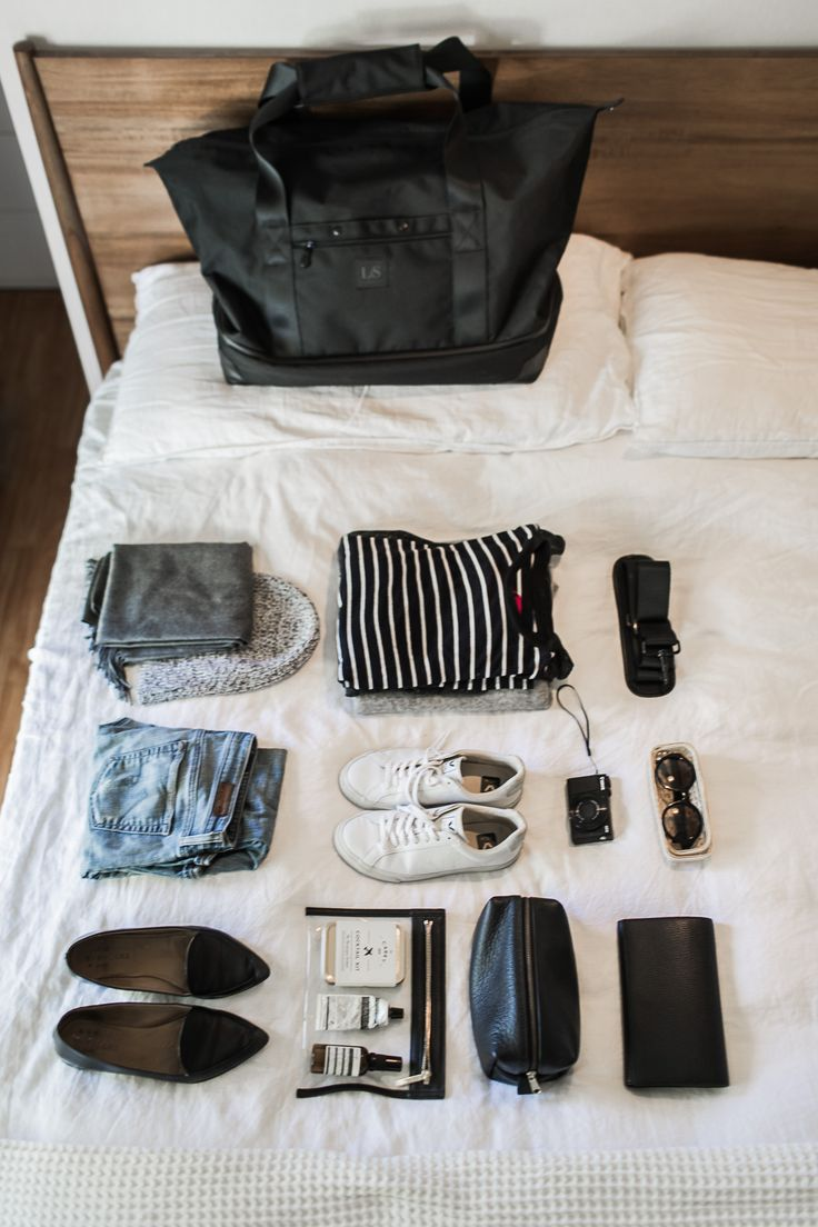 5 Tips For Packing a Weekender Bag