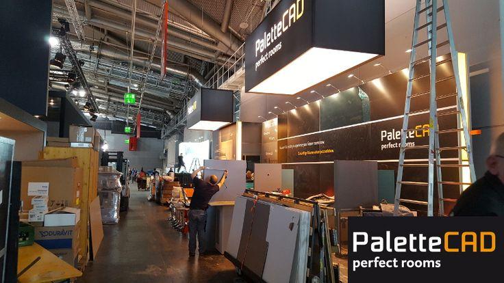 Trend Der Aufbau von unserem neuen Messestand beginnt Messe Frankfurt App PaletteCAD ISH Pinterest
