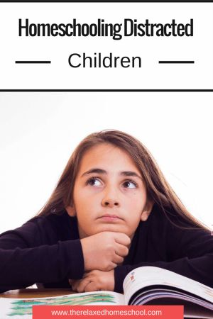 How to homeschool a distracted child! Great tips and ideas to help them focus and learn!