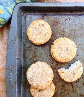 2 Ingredient Banana Coconut Cookies (Grain/Sugar/Dairy/Nut/Egg-Free, Paleo) | GrokGrub.com