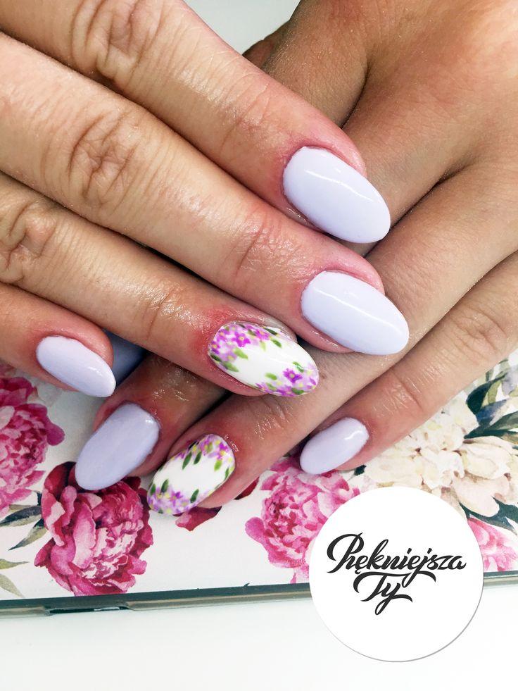 Manicure hybrydowy #manicure #skierniewice #piekniejszaty #paznokcie #zdobienie #flowers