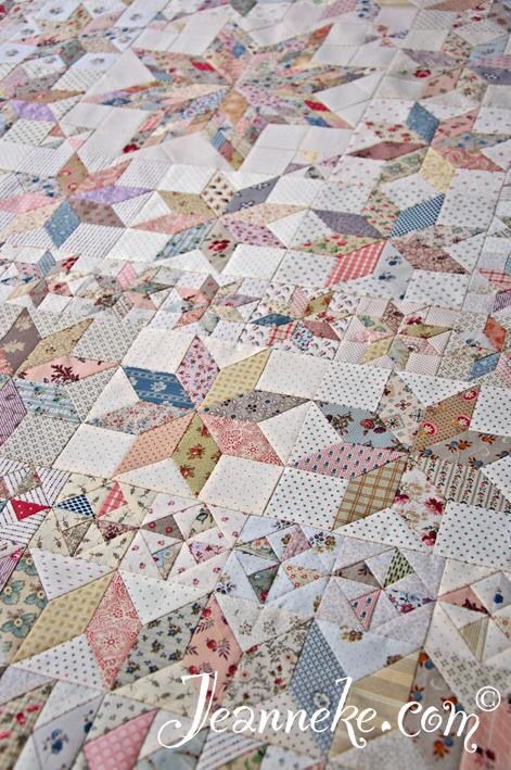 Victoria Quilt, top before quilting