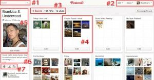 SEO and traffic building through Pinterest.