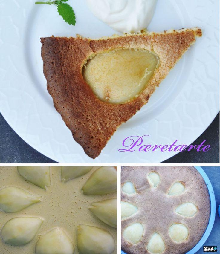 Hurtig pæretærte, Danmark,Andet, Andet, Bagværk, opskrift