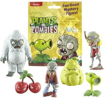 Plants vs. Zombies Fun-Dead Figures £2.99