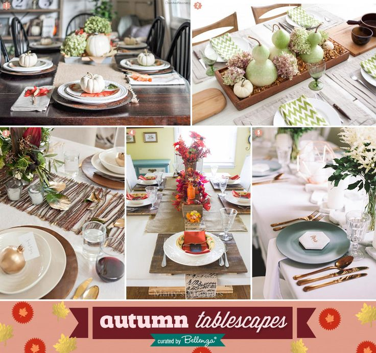 Autumn Tablescapes From Featured Blogs | The Party Suite At Bellenza