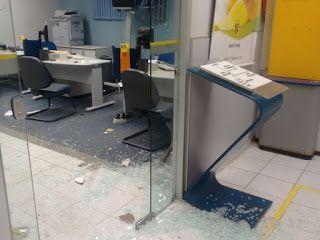 BLOG DO MAGO 25 HORAS: Grupo ataca destacamento da PM e explode cofre de ...