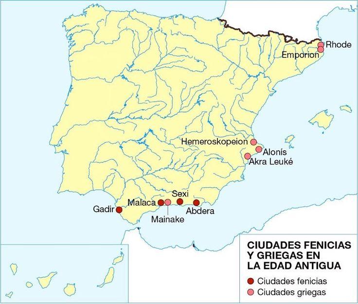 316. 1 Ciudades fenicias y griegas en la Edad Antigua