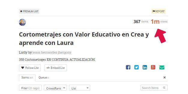 Crea y aprende con Laura: Una lista de siete cifras #Cortometrajes