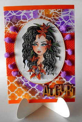 Blankina creations: Sognando Scrap challenge DT post
