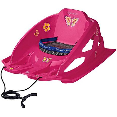 Vehicule pentru copii :: Saniute copii :: Saniute bebelusi :: Sanie Bambino Pink Alpen Gaudi