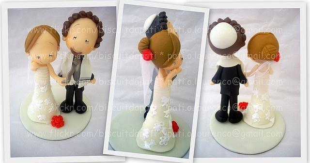 Casamento Judeu. Jewish wedding #cake #toppers