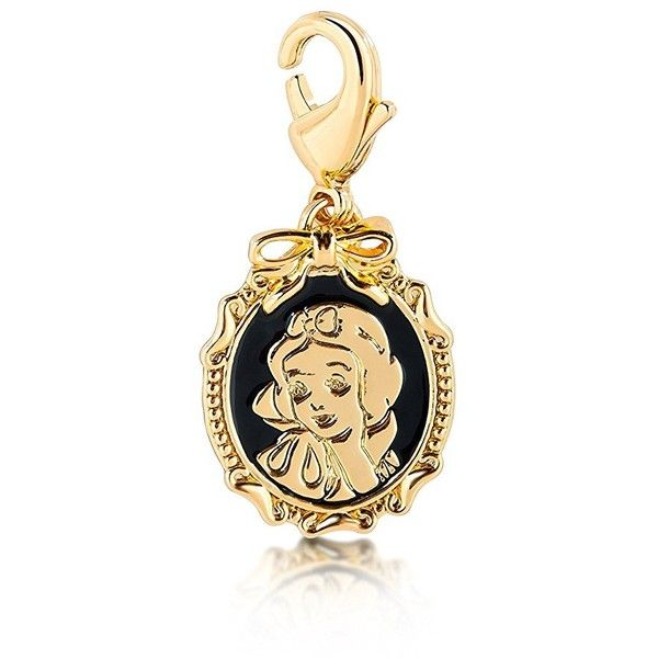 Disney Couture Snow White Cameo Charm ($35) ❤ liked on Polyvore featuring jewelry, pendants, disney couture jewelry, charm pendants, cameo jewelry, clasp charms and disney couture