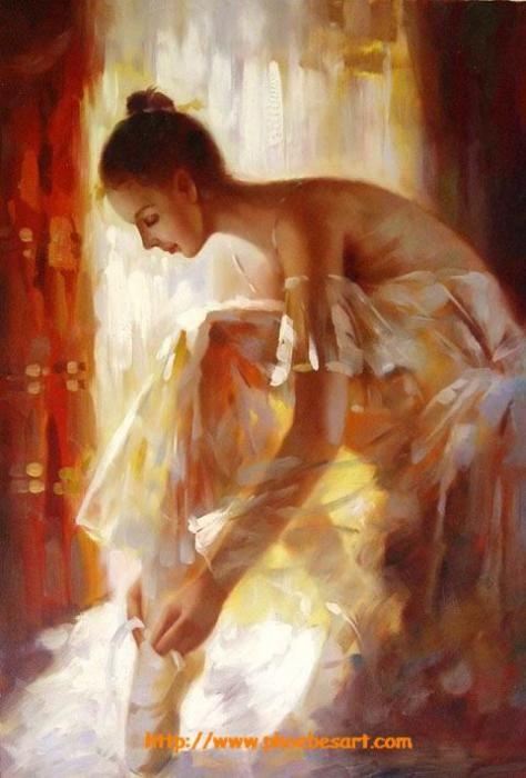 Ballet Dancer by David W