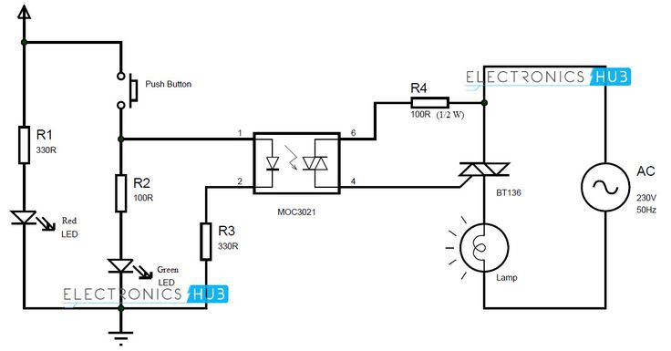 electronic dimmer circuit