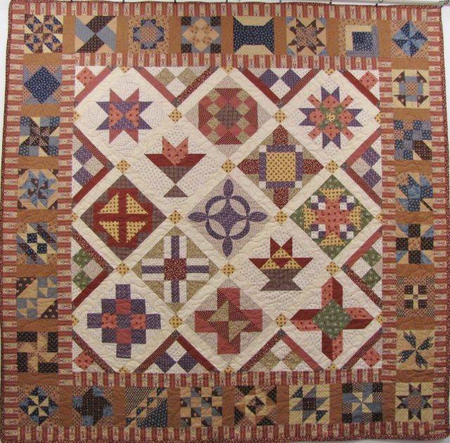 Civil War Sampler Quilt by Magic Patch Quilting