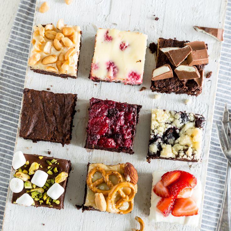 Brownies - 9 mal anders