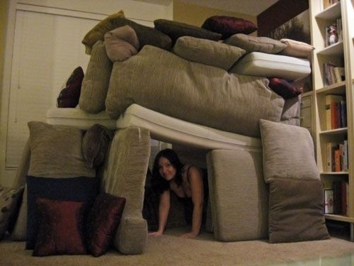 Pillow Forts Oh I Miss The Living Room Campground Lol From