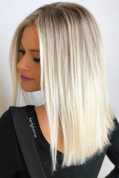 Soft Blonde Ombre - 20 Beautiful Winter Hair Color Ideas for Blondes - Photos
