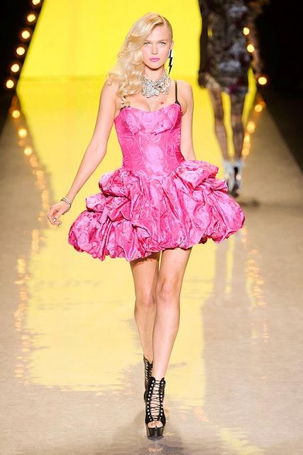 Betsy Johnson spring 2012:  Minis, Pink Dresses, Johnson Spring, Betsy Johnson, Barbie Pink, Fashion Inspiration, Johnson Runway, Betsey Johnson, Spring 2012