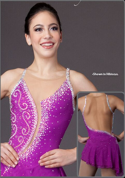 figure skating competition dresses for women  pink  ice skating dress for girls hot sale custom ice skating dress free shipping