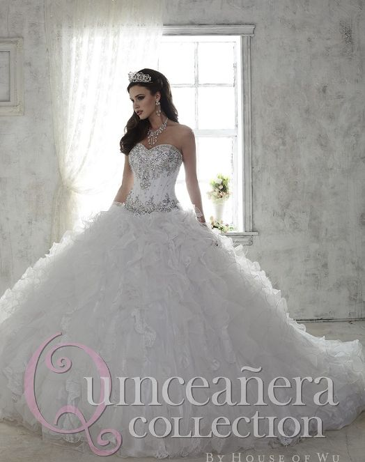 In case you didn't know already, white quinceanera dresses are the tradition! It was only recently that colorful dresses became the trend among quinceaneras looking to stick to their themes. But white dresses will always be timeless and elegant! - See more at: http://www.quinceanera.com/dresses/white-quinceanera-dresses/#sthash.qoNiwDEh.dpuf