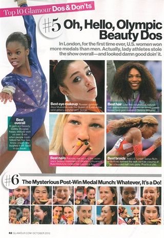 Best Nails from the 2012 Olympics - Style - NAILS Magazine