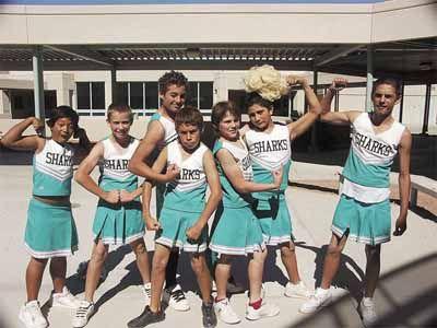 boy wearing cheerleader skirt - Google Search