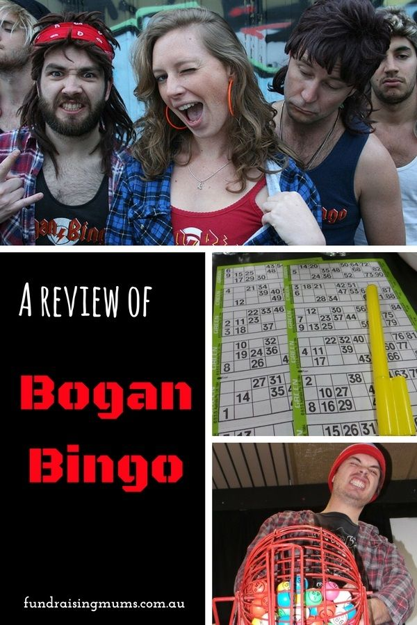 A review of fundraising with Bogan Bingo - what's involved? Is it fun? How much can you make?