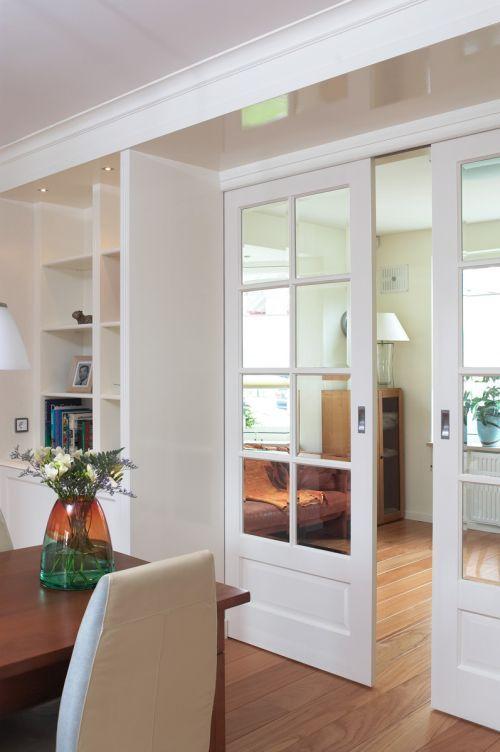Kamer en suite modern wit