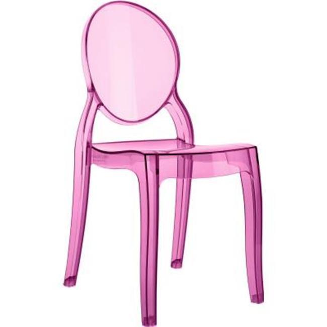 Siesta Isp051 Tpnk Baby Elizabeth Kids Chair Transparent Pink Walmart Com In 2020 Kids Desk Chair Kids Chairs Pink Desk Chair