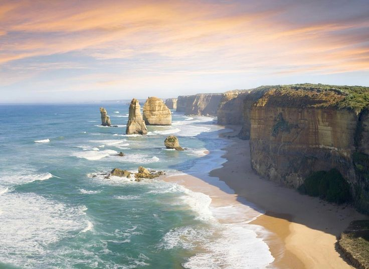Victoria coast of Australia