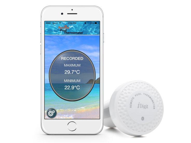 Bluetooth Pooltermometer - Hav styr på temperaturen med mobilen!