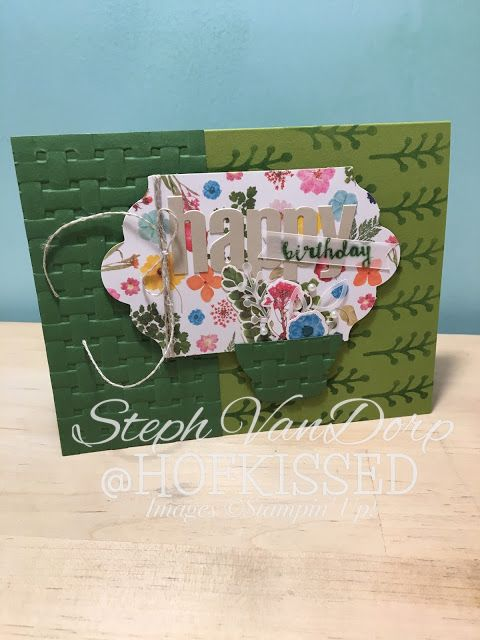 Paper Pumpkin - Alternative Projects for February 2018, Wildflower Wishes, Hofkissed, Stampin' Up!, flowers, handmade, greeting cards, handmade