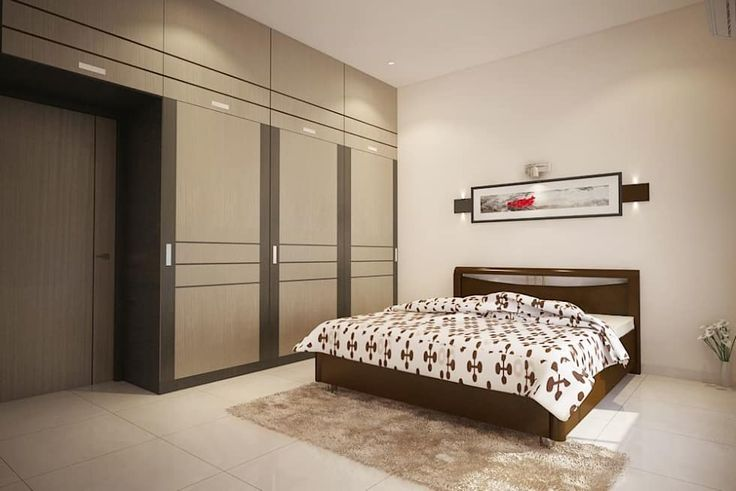 Apartment at Adarsh Palm Retreat: modern Bedroom by ACE INTERIORS